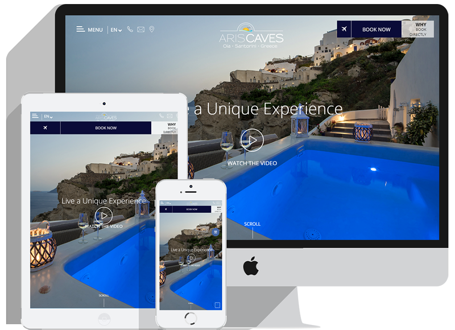 Hotel Website for conversion